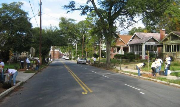 Trees Atlanta Lucile Avenue