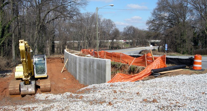 Westview BeltLine Construction