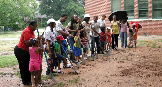 KIPP STRIVE Primary Groundbreaking