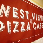 Westview Pizza Cafe Sign