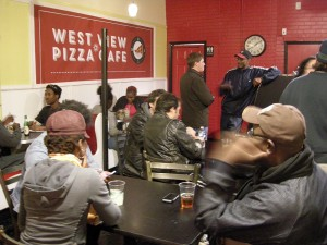Westview Pizza Cafe During Soft Opening