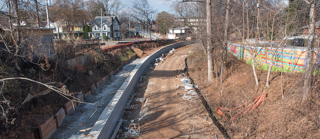Atlanta BeltLine Construction