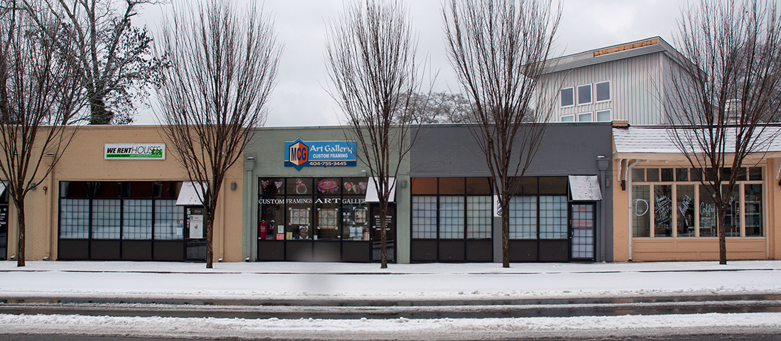 Snow in the Westview Village