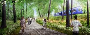 Westside Trail Holderness with Transit