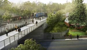 Westside Trail MLK with Transit