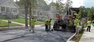 Infrastructure Bond Street Repaving