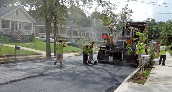 Infrastructure Bond Street Repaving