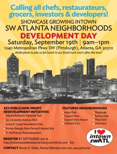 Intown SW Atlanta Neighborhoods Development Day