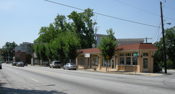 Westview Commercial District