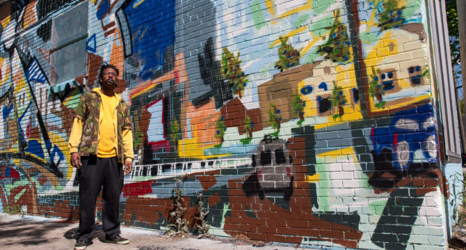 Michael Jones Mural Unveiling