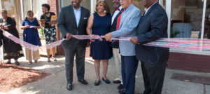 D Cafe Ribbon Cutting Ceremony